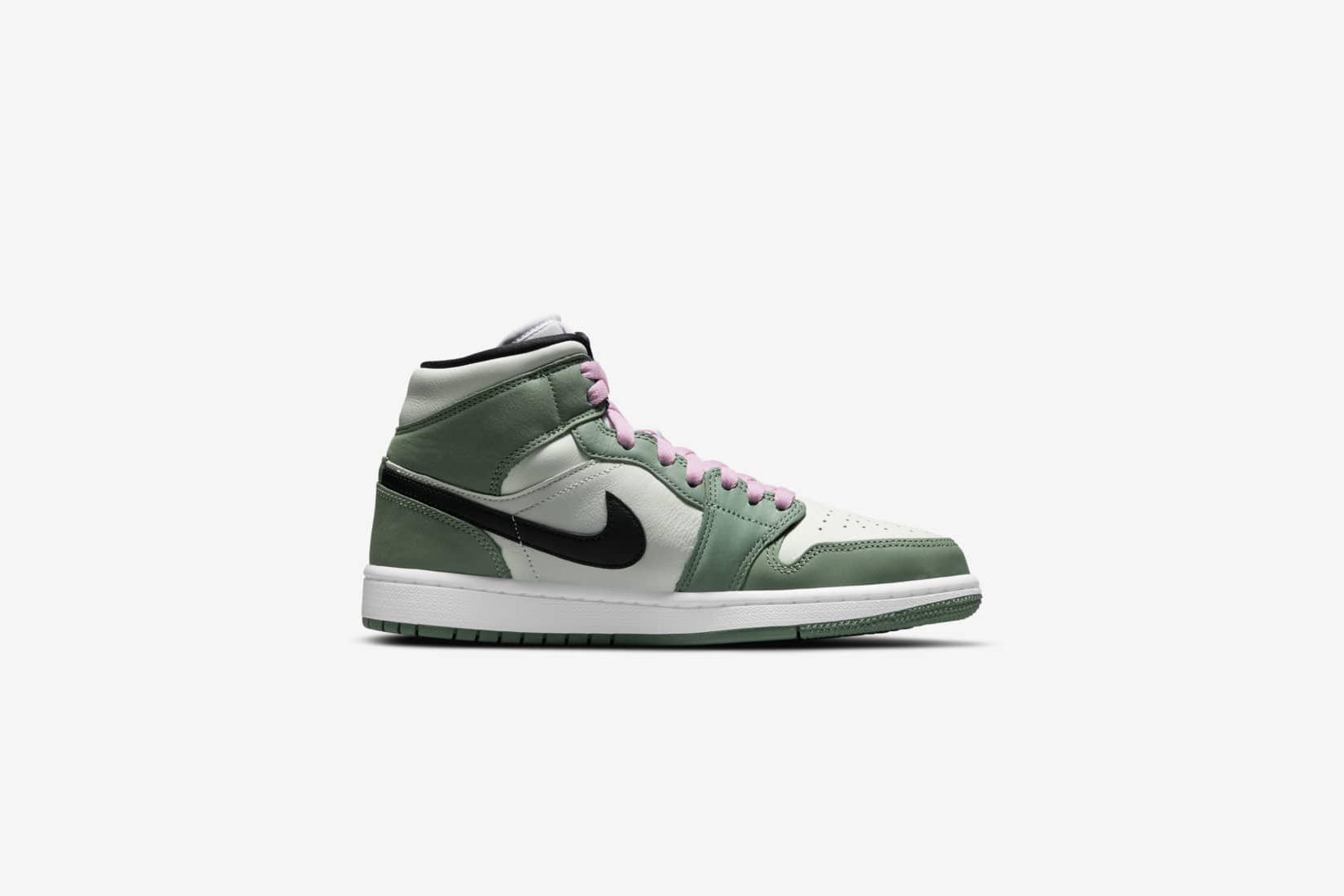 Air Jordan : Une paire pour femme aux lacets roses poudrées va sortir