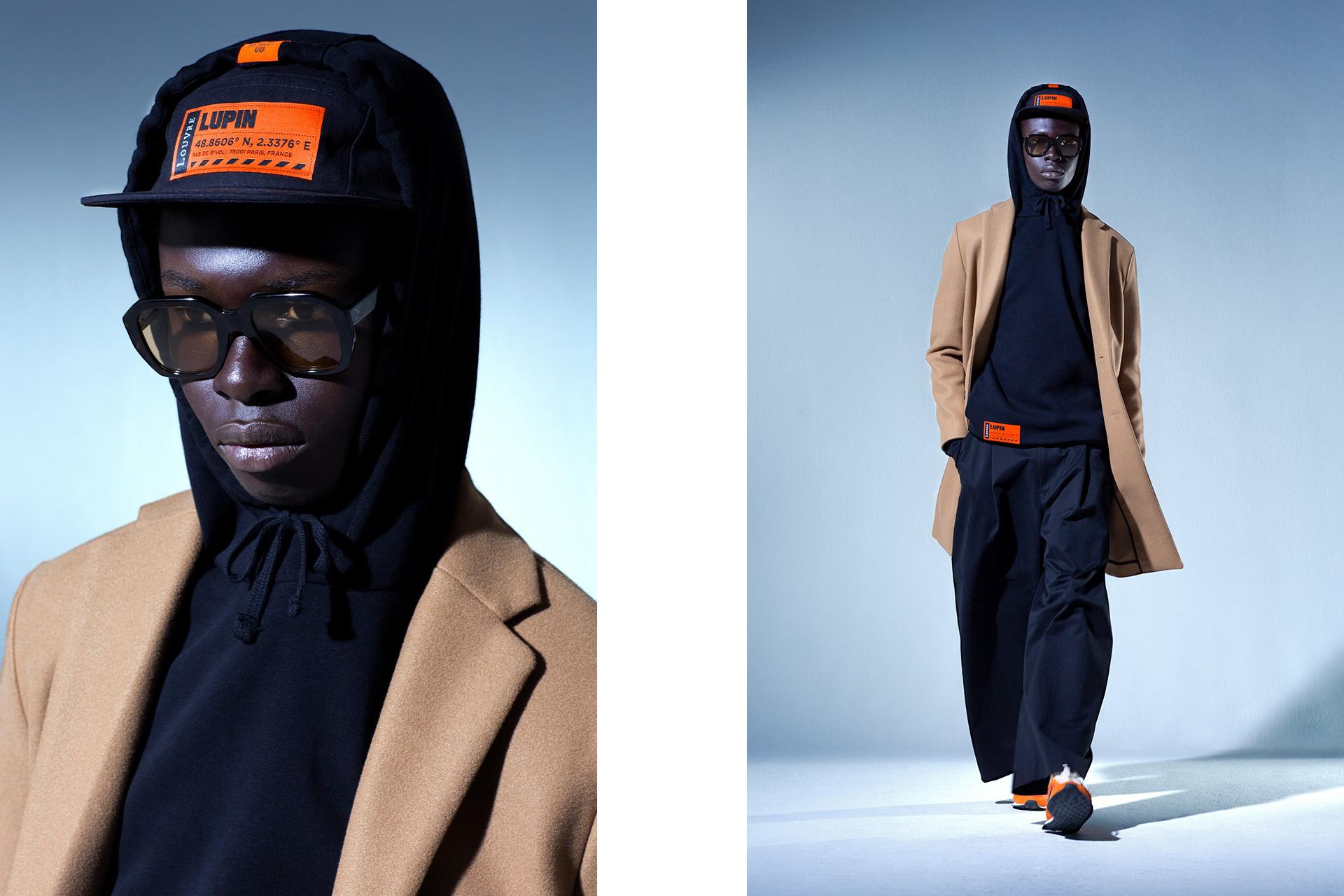 Lupin, la série avec Omar Sy, dévoile une collection streetwear